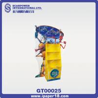 Advertising film cardboard standee display rack