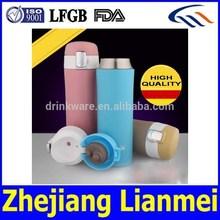 LFGB FDA eco-friendly BPA free double wall thermos flask, vacuum thermos flask 400ml, double wall stainless steel vacuum flask