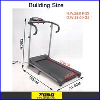 Small Motorized Treadmill with Safe Key