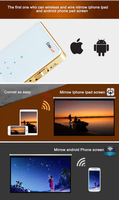 Wholesale Price Coolux Q6 DLP Video Projector Led Home Theater Projectors Jogos Ps3 Game Wifi Display for IPhone/Andorid Phone