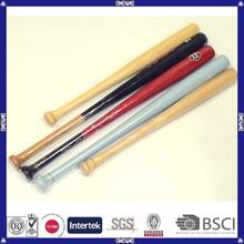 OEM design cheap price wholesale wood baseball bats