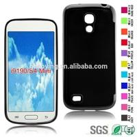 TPU Material Phone Back Cover Stick a Skin phone case for Samsung I9190 S4mini