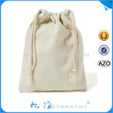 Custom Silk Screen printing Cotton Drawstring Bag
