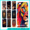 Beauty Animal Tiger Phone Case For iPhone 5 5s ,For iPhone TPU Back Cover Case