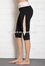 wholesale ladies lycra yoga pants, yoga pants with skirt