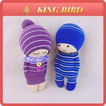 Purple and blue cute custom sublimated socks