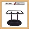 nuovo 2015 stylemetal di marmo rotondo tabella di base in ghisa base per tavolo per la vendita