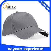 6 panel golf cap baseball cap sandwich hat