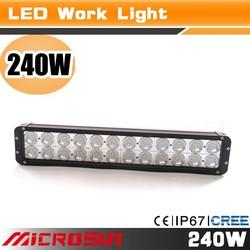 "50"" thin led light bar Super bright led light bar 12v led dynamo working light"