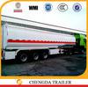 3 axles Howo iol tanker 36000 litres fuel tanker semi trailer