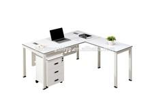 Cheap mdf steel modern executive desk modern office table