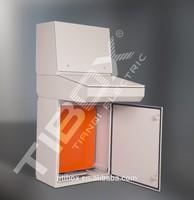 ALP industrial operator control desk metal electrical enclosure cabinet