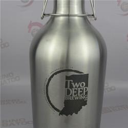Brewpub dispensing ss sports outdoor water bottle