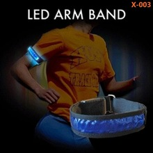 Light Up Fiber Optic Armband for Night Safety
