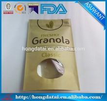 FDA kraft paper bag packaging for granola