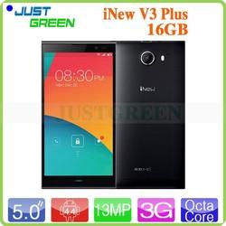 Octa-core smart phone! 5.0 inch Android 4.4 iNew V3 Plus 2GB/16GB Dual SIM 5.0MP+13.0MP OTG/FM/Multi language WCDMA smart phone