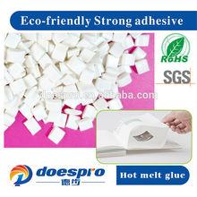 Eco-Friendly Hot Melt Paper Products Glue Back Glue
