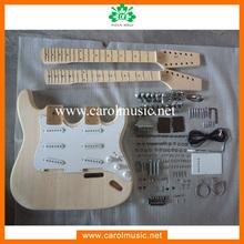 GK070 Wholesale Double Neck DIY Electric Guitars Kits