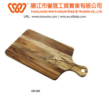 wholesale wooden cutting board with handle
