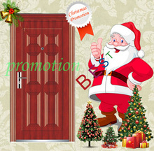 Christmas promotion security door with swing open style