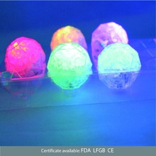 Water-proof LED light up ice cube Ball