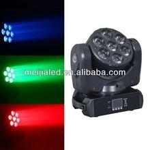 Advanced 7x 12w 4in1 rgbw led mini beam moving head
