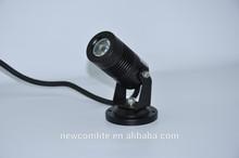 Mini 12V/24V Led Spot Light Garden 3w
