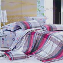 New Design Wholesale 4pcs 3d Dot & Stripe 100% Cotton Light Color Elegant Bedding Sets