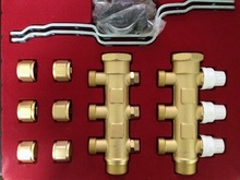 water manifold of brass material