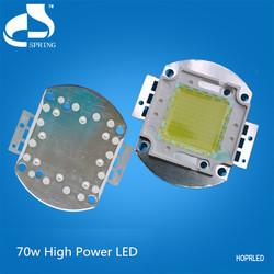 High bright 3500k 70w led