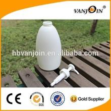 400ml HDPE Pump Bottles Shampoo Bottle Shower Gel Bottle Cosmetic Packaging