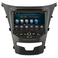 Android 4.4.2 Rockchip A9 dual-core Car Dvd With Gps Navigation System for Korando 2014