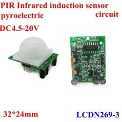 New Product Infrared position PIR sensor,pyroelectric body induction module , 4.5-20V samples saleonline