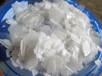 Caustic soda flakes 99% for paper making, dyes, cotton processing