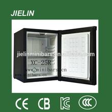 Silencioso frigorífico de 25L a 40L mini bar absorção de frigorífico mini frigorífico com chave
