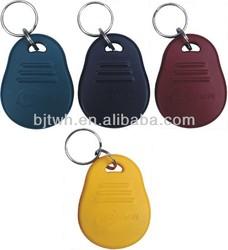 RFID TK4100 proximity key rings fobs
