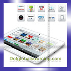 Factory Price Customized Professional Android 4.0 Quad Core 1280x800 Wifi 7 Inch Tablet computers
