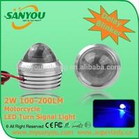 2014 Delay Blinker 2w 100lm 200lm signal Light SANYOU LED motorcycle LED Turn Signal Light