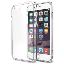 Air Cushion Technology crystal Clear PC case for iphone 6 ,clear PC bumper Case for iPhone 6