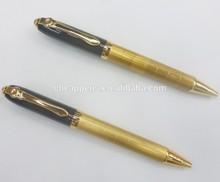 engraved golden souvenir metal pen