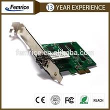 Computer Gigabit Ethernet NIC Card,pciex1 slot,FTTD Solution product,intel82583v chip