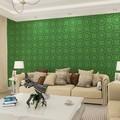 a decoração com papel de parede deinteriores de casas