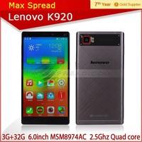 Original Lenovo K920 Vibe Z2 Pro 4G LTE FDD mobile phone price in thailand