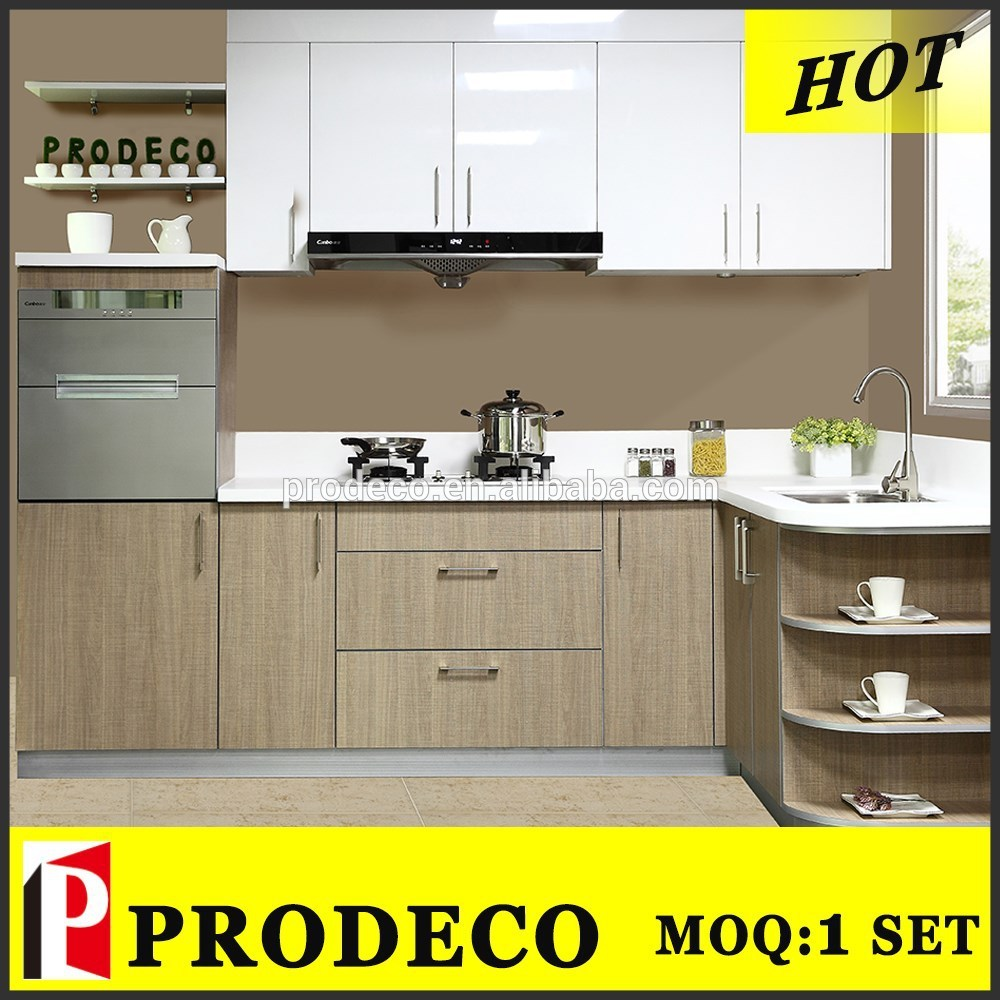Modern design small cheap kitchen cabinet set buy for Small kitchen cabinet set