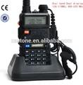 Mais poderoso rádio Time out Timer baofeng uv5r walkie talkies para construção usado