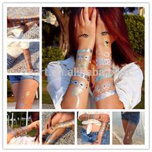 Metallic Blue Tattoos,tattoo skin