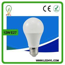 Aluminum plastic new style 12w high lumen e27 base 1000 lumen led bulb
