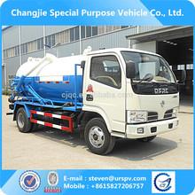 90HP 4 x 2 vácuo de sucção de esgoto Tanker Truck
