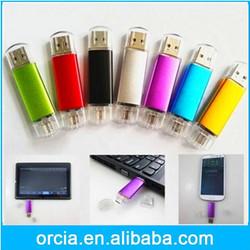 Mini OTG usb flash drive 8GB,Smartphone U Disk for android phone