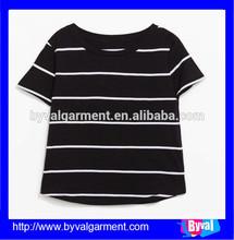Dry Fit Cotton Stripe Garment Tie Dyed Women Shirt